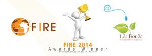 Lôr Bouôr Lauréat du prix FIRE Africa 2014