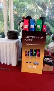 L'un des quatre checkpoint Nardi Café lors de l'Africa Web Festival 2015...