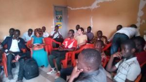 Les invités ont tous manisfesté de l'intérêts pour les différents panels du Workshop ...